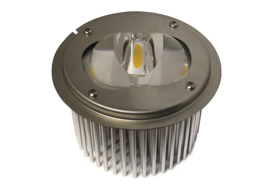 Amerlux introduces DOSM LED downlight optically sealed module for exterior fixtures