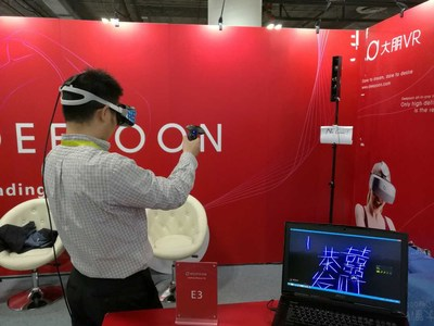Deepoon VR's New PC Helmet E3 and Laser Positioning Solution E-Polaris Showcased at CES