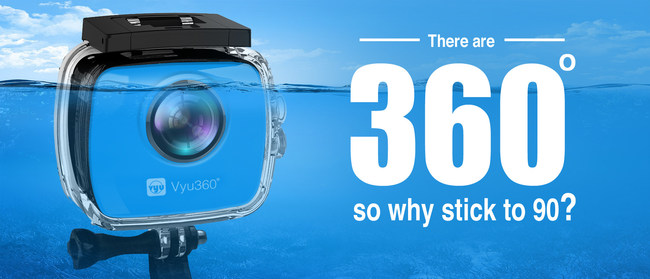 Underwater IP9K 360 Degree Camera