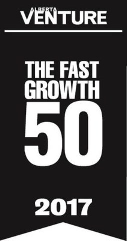 The Alberta Venture Fast Growth 50 is a leading indicator of thriving Albertan businesses. Results Canada Inc. ranked #27 on the just-released list for 2017. (CNW Group/Results Canada Inc.)