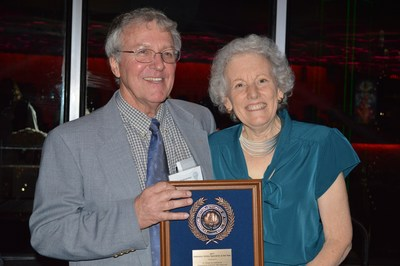 University of California's Dr. Robert Hutmacher, shown here with wife Kay, was named the 2017 Extension Cotton Specialist of the Year during the Beltwide Cotton Conference in Dallas on Jan. 5.