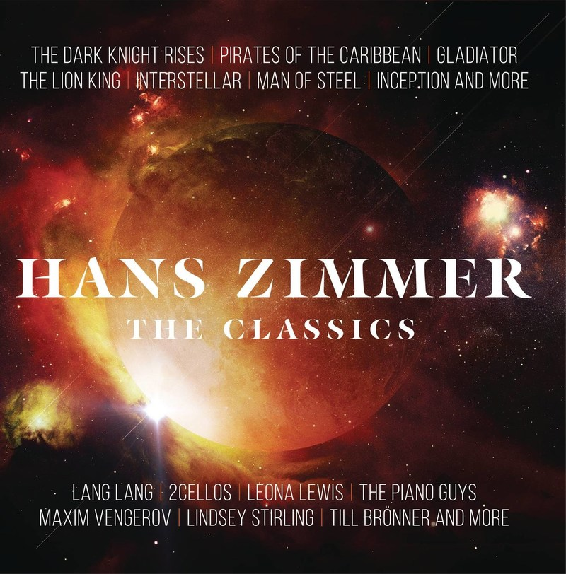 Sony Classical releases the new album Hans Zimmer - The Classics January 13.