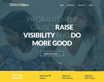 2017 Non-Profit PR Grants