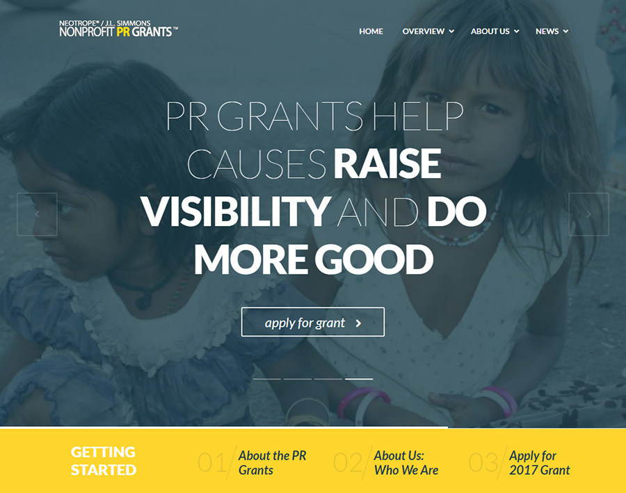 2017 Non-Profit PR Grants