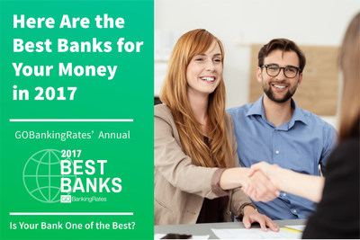 After a thorough examination of 100 national and online banks, GOBankingRates has released its fifth annual Best Banks rankings.