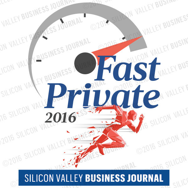 Sanveo ranked No. 5 on the Silicon Valley Business Journal's 'Fastest Growing Private Companies' list for 2016