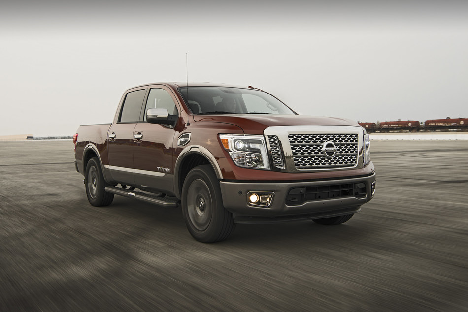 Nissan Titan Wins TRUCK TREND'S 2017 Pickup Truck of the Year Award