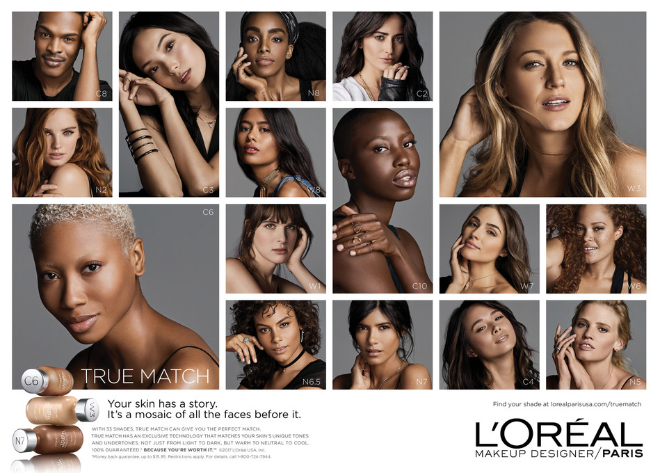 L'Oreal Paris Debuts New True Match Campaign: Your Skin, Your Story
