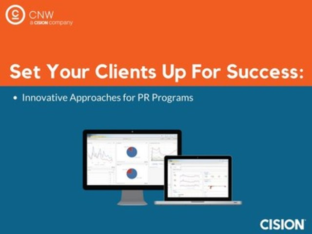 Set Your Clients up for Success (CNW Group/CNW Group Ltd.)