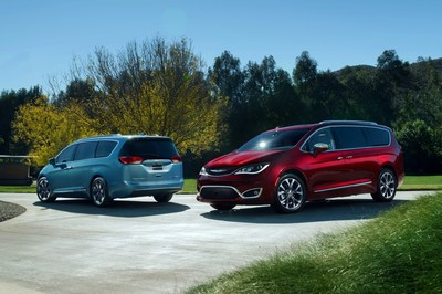 2017 Chrysler Pacifica named 2017 North American Utility of the Year by panel of automotive experts.