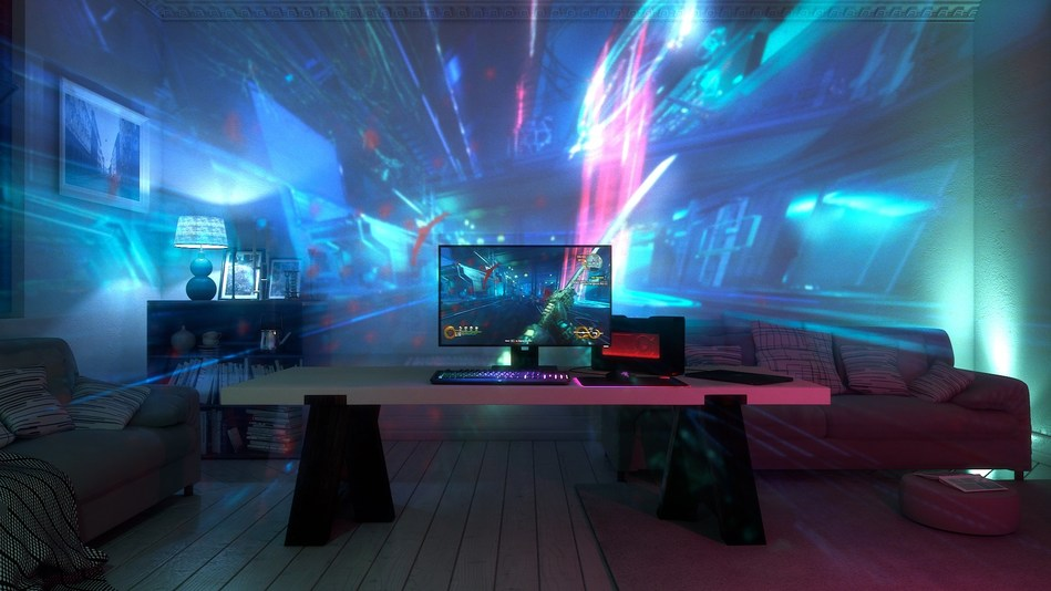 Razer's Project Ariana, the world's most immersive gaming experience