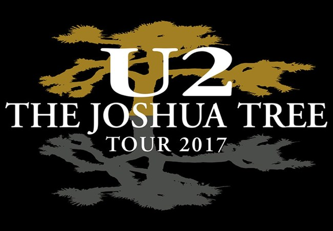 U2 announces The Joshua Tree Tour 2017 (PRNewsFoto/Live Nation Entertainment)