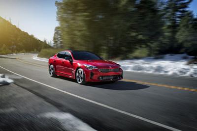 El Kia Stinger 2018 hace gran debut en el North America International Auto Show.