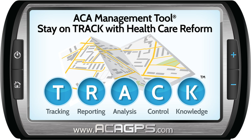 ACA Management Tool(R) - Keeping you on TRACK with Health Care Reform.  Visit www.acagps.com to learn more.  Call 470-239-5524 to schedule your demonstration.  Email sales@acagps.com to receive more information.