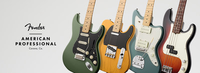 Fender' Announces New, Flagship American Professional Series Debuting January 2017