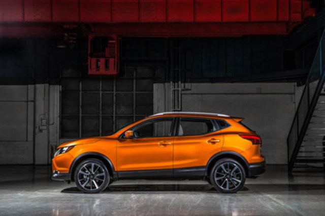 Nissan debuts latest addition to its Canadian lineup at NAIAS – 2017 - Nissan Qashqai (CNW Group/Nissan Canada Inc.)