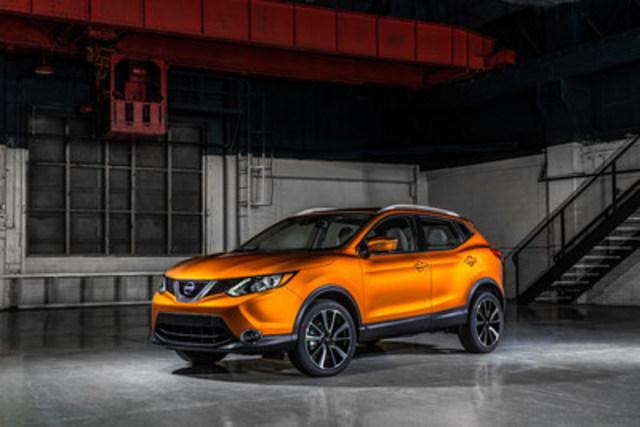 Nissan annonce l''arrivée du Qashqai au Canada lors du Salon International de l''Auto de Détroit 2017 (Groupe CNW/Nissan Canada Inc.)