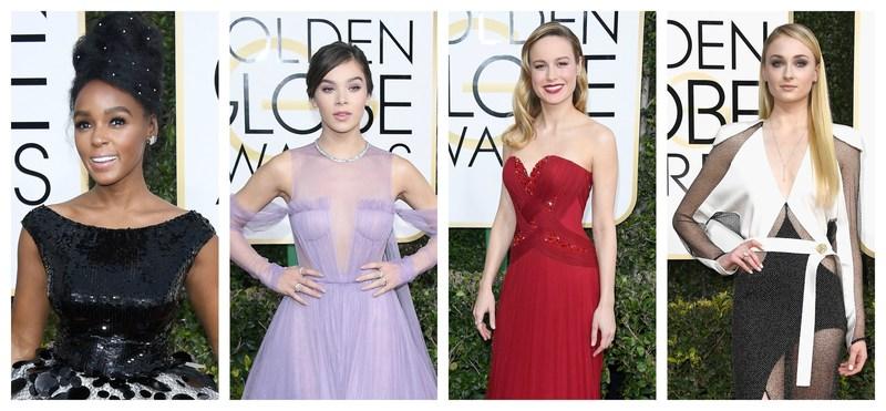Janelle Monae, Hailee Steinfeld, Brie Larson, and Sophie Turner Sparkle in Forevermark Diamonds at the 74th Annual Golden Globe Awards