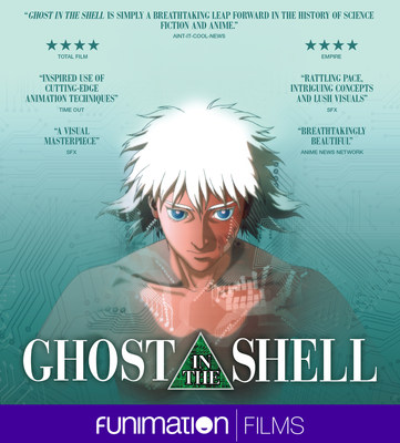 """Ghost in the Shell"" film key art. Courtesy Funimation Films."