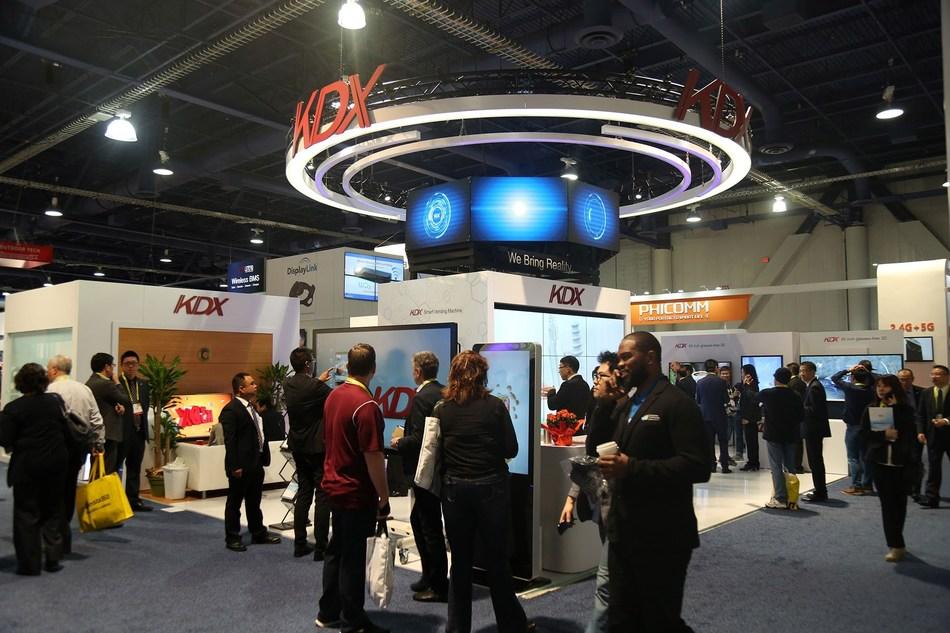 KDX at CES 2017 (PRNewsFoto/KDX)