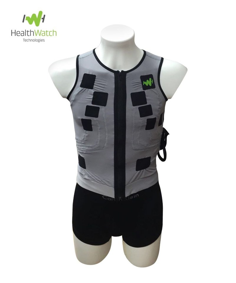 HealthWatch's comfortable, medical-grade smart garments are designed to help wearers stay healthy and gain peace of mind, without affecting their lifestyle. (PRNewsFoto/HealthWatch)
