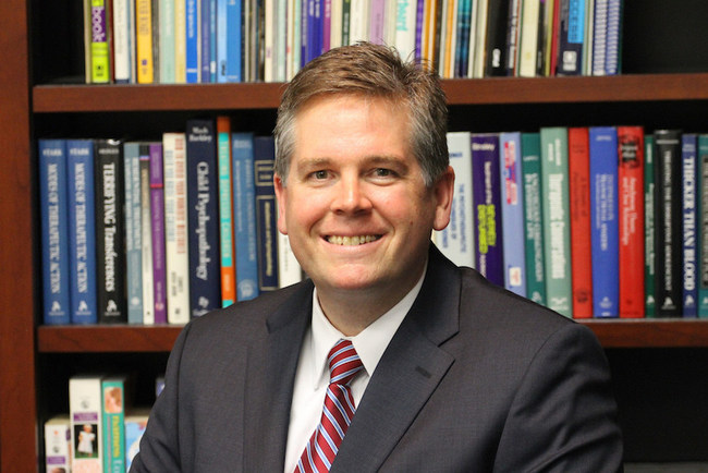 Brian Maness, President, and CEO of Children's Home Society of North Carolina
