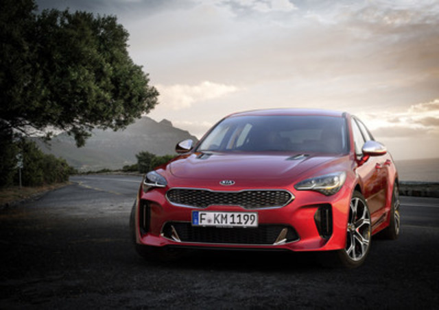 2018 Kia Stinger (CNW Group/Kia Canada Inc.)