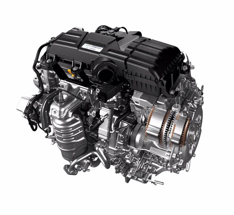 Honda's Two-Motor Hybrid System (PRNewsFoto/American Honda Motor Co., Inc.)