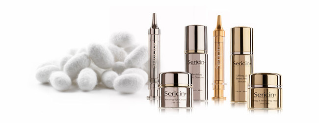 Sericin Plus - Silk Inspired Skin Care. Sericinplus.com.