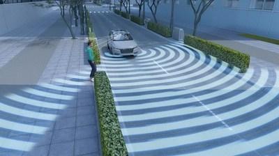 Pedestrian Detection to ensure safe street crossing.