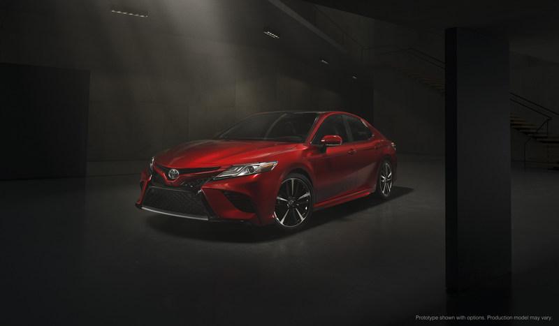 El totalmente nuevo Toyota Camry 2018 (PRNewsFoto/Toyota)