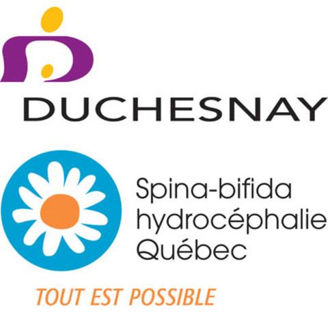 Logo : Duchesnay / l'Association de Spina-bifida et d'hydrocéphalie du Québec (Groupe CNW/Duchesnay inc.)