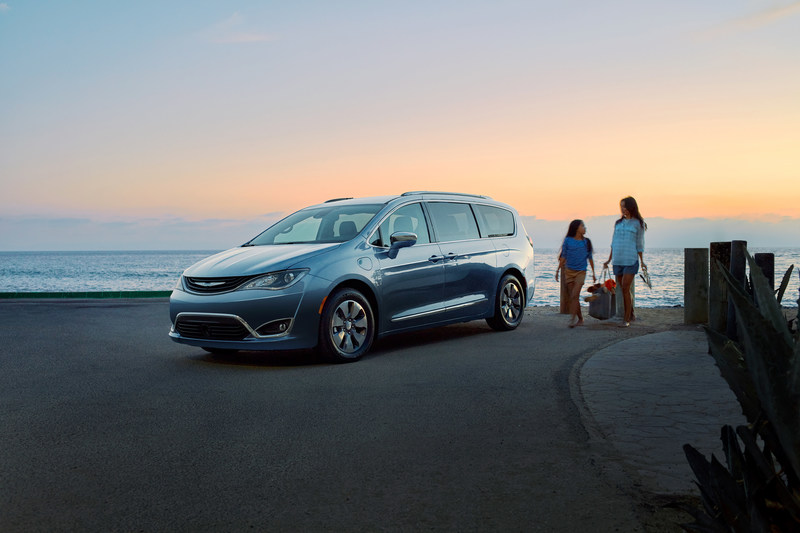 Potential emissions reduction from '17 Chrysler Pacifica equivalent to CO2 from 22 American homes.