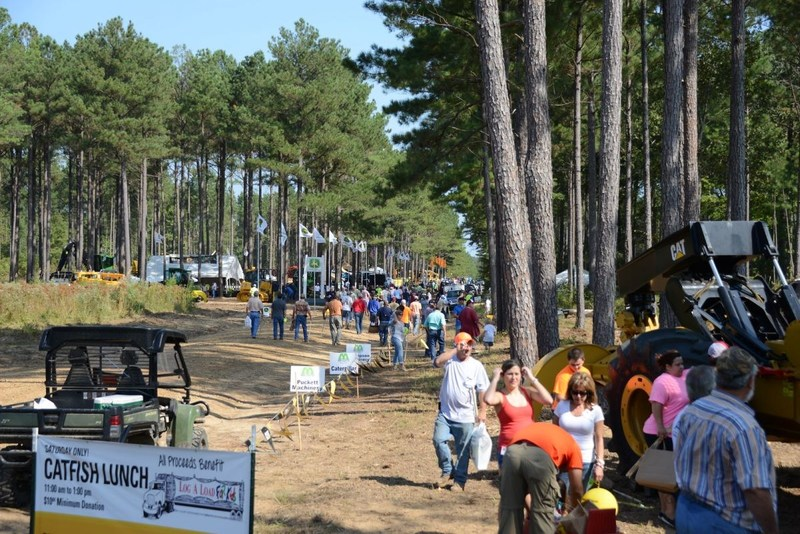 MaxxSouth Broadband donated many contributions to local community events such as the Mid-South Forestry Equipment Show in Starkville, Mississippi.