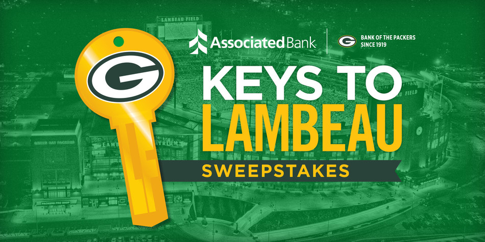 Associated Bank is offering Packers fans an opportunity to win an exclusive, behind-the-scenes, VIP tour of Lambeau Field as part of the team's post-season celebration.