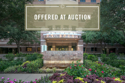 Absolute Auction on January 28th for Modern Penthouse at the Only High-Rise Luxury Condominium in Las Colinas, TX