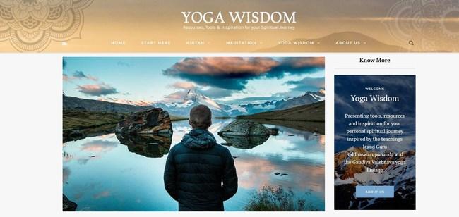 Yoga Wisdom Site