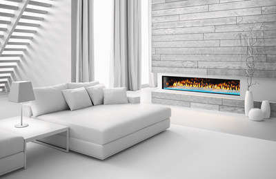A sophisticated take on contemporary styling, the PRIMO gives homeowners complete design freedom. Zero restrictions on combustible finishing materials (including material like barn wood) eliminate concerns of overheating or safety hazards and offer the ability to safely hang a TV or valuable art above the fireplace for a completely custom look.