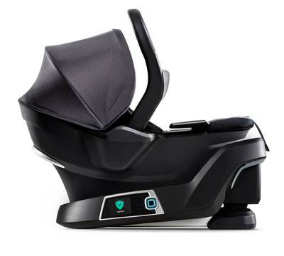 The 4moms self-installing car seat.