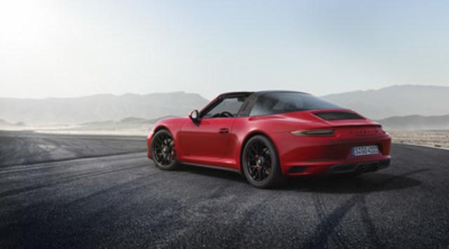 Porsche 911 Targa 4 GTS 2017. (Groupe CNW/Automobiles Porsche Canada)
