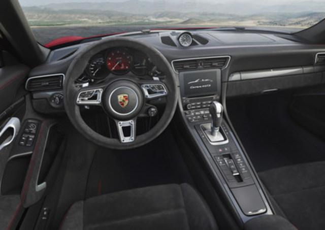 2017 Porsche 911 Carrera 4 GTS. (CNW Group/Porsche Cars Canada)