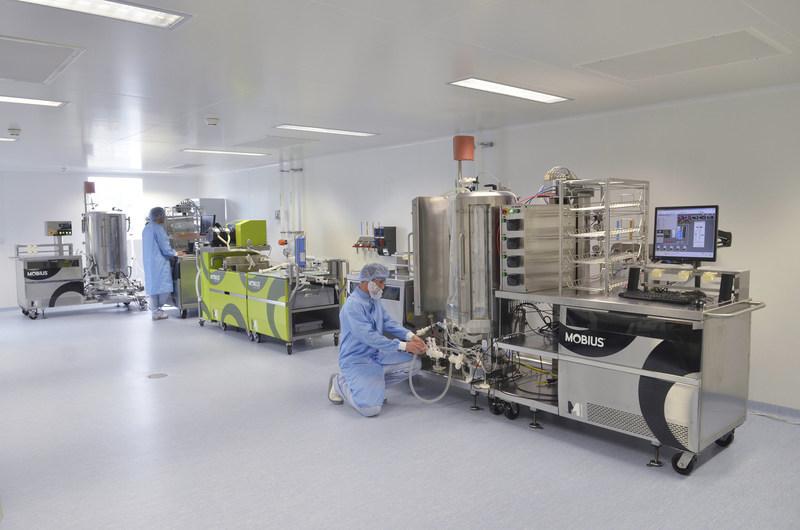 A Merck esta expandindo seus centros de biodesenvolvimento ponto-a-ponto para satisfazer a crescente demanda de clientes por seu portfolio de produtos de bioprocessamento, capacidade de manufatura e conhecimento tecnologico lider no setor. (PRNewsFoto/Merck)