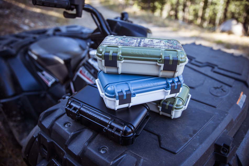 OtterBox 3250 Series drybox is available now in black, Hudson and Ridgeline for $39.99 and is coming soon in Realtree camo for $49.99.