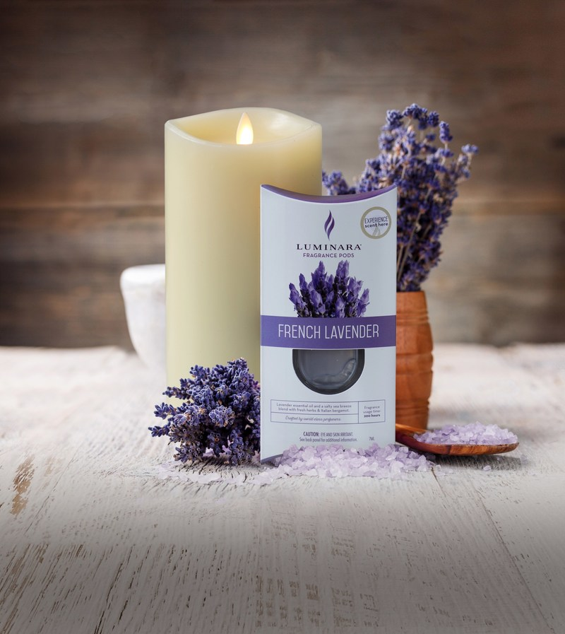 Luminara, the world's premier real flame-effect candle, debuts the Fragrance Diffusing Candle at the Atlanta Gift Show. It is the first real flame-effect candle to feature scent inserts. These luxurious, custom scents are crafted with rare ingredients and essential oils to diffuse subtly, safely and beautifully.