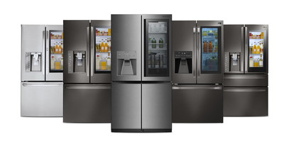 Leading home appliance manufacturer LG Electronics is significantly expanding the number of refrigerators in 2017 outfitted with the popular InstaView(TM) feature that allows users to knock twice to illuminate its glass panel and see inside the refrigerator without opening the door.