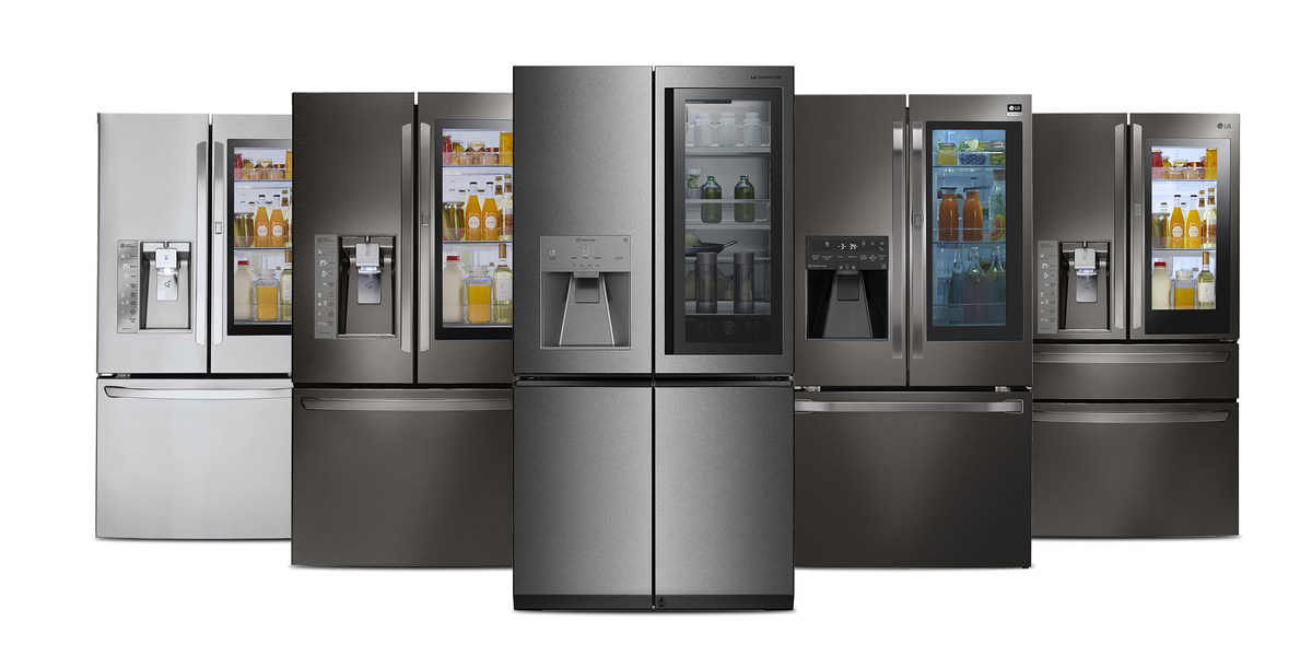 lg refrigerator instaview. lg builds on success of award-winning instaview technology with expanded 2017 refrigerator lineup lg instaview t