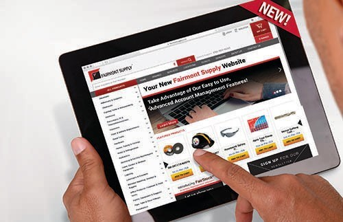 New Year! New Website! Register today at fairmontsupply.com