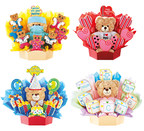 Cookies by Design, the original cookie bouquet company, has partnered with Build-A-Bear Workshop to launch huggable, lovable special occasion cookie gift baskets featuring teddy bears with Valentine's Day, Birthday, Get Well and New Baby themes.