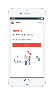 Ladder mobile homepage