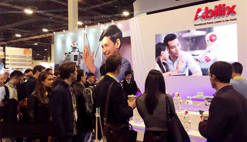 Abilix, a hit at CES. (PRNewsFoto/PartnerX)